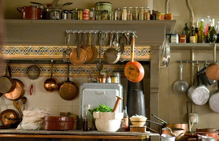 Julia Child's Kitchen  Meryl Streep plays